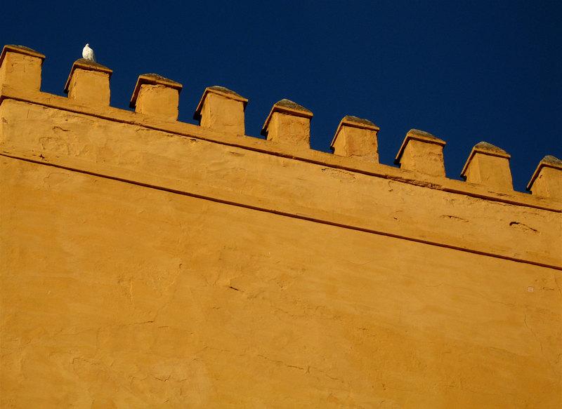 alcazar wall; click for previous post