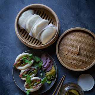 How To Make Flat Steamed Buns (14 Pieces)