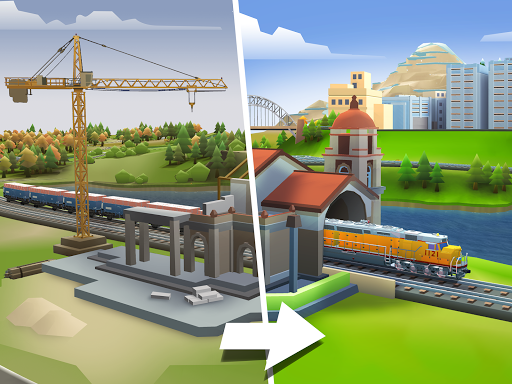 Train Station 2: Rail Strategy & Transport Tycoon 1.27.1 screenshots 2