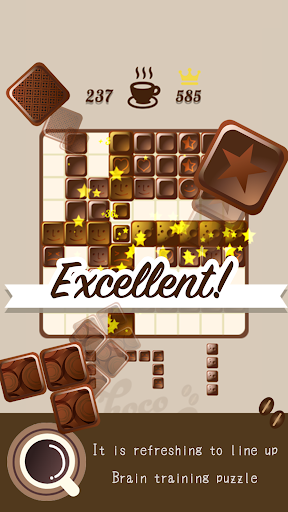 Block puzzle-Chocolate puzzle like a wood puzzle apktram screenshots 3