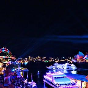 【世界のお祭り】街全体が美しく輝くオーストラリア・シドニーのフェスティバル「ビビッド・シドニー」