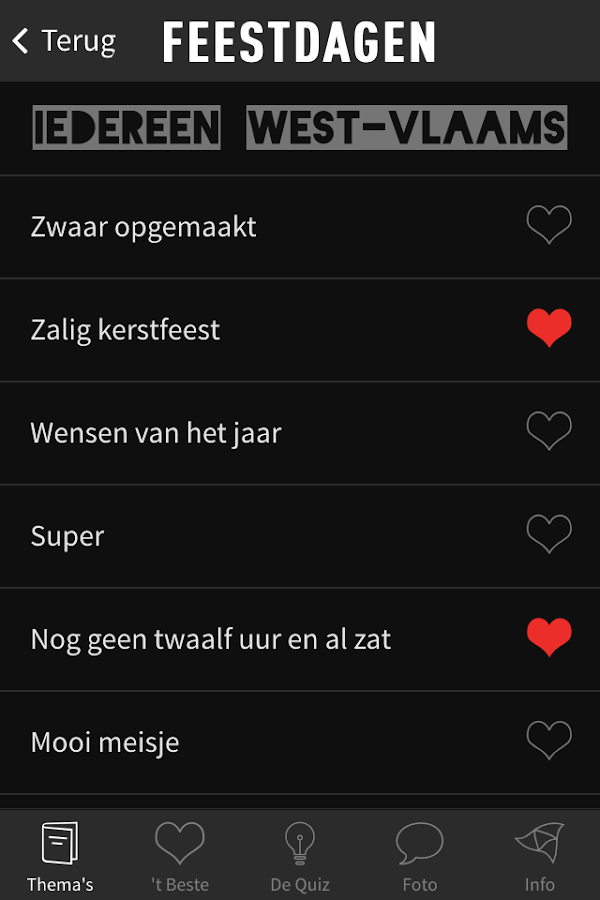 Iedereen West-Vlaams- screenshot