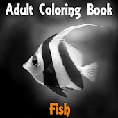 Adult Coloring - Fish Seine