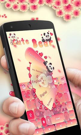 Cute Bear GO Keyboard Theme 4.178.100.84 screenshot 408078