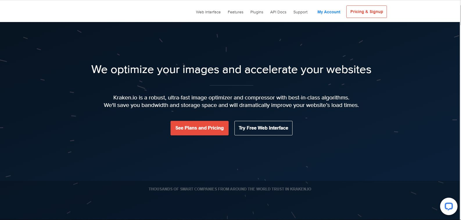 kraken.io online image compression tool