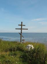 Photo: Поклонный крест у причала