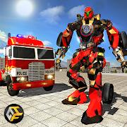 Police Truck Super Robot Transformation War