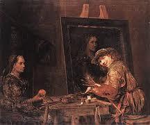 Foto: Aert (of: Arent) de Gelder (Dordrecht, 26 oktober 1645 - aldaar, 27 augustus 1727) was een Nederlandse kunstschilder. De Gelder was aanvankelijk leerling van Samuel van Hoogstraten en ging daarna naar Amsterdam, waar hij van 1661 tot 1667 bij Rembrandt werkte en diens laatste leerling was. Daarna keerde hij naar Dordrecht terug. Hij bleef werken in de trant van zijn leermeester: brede penseelstreken, krassen in de verf en soortgelijke lichtcontrasten. De Gelder schilderde vooral bijbelse onderwerpen en portretten.