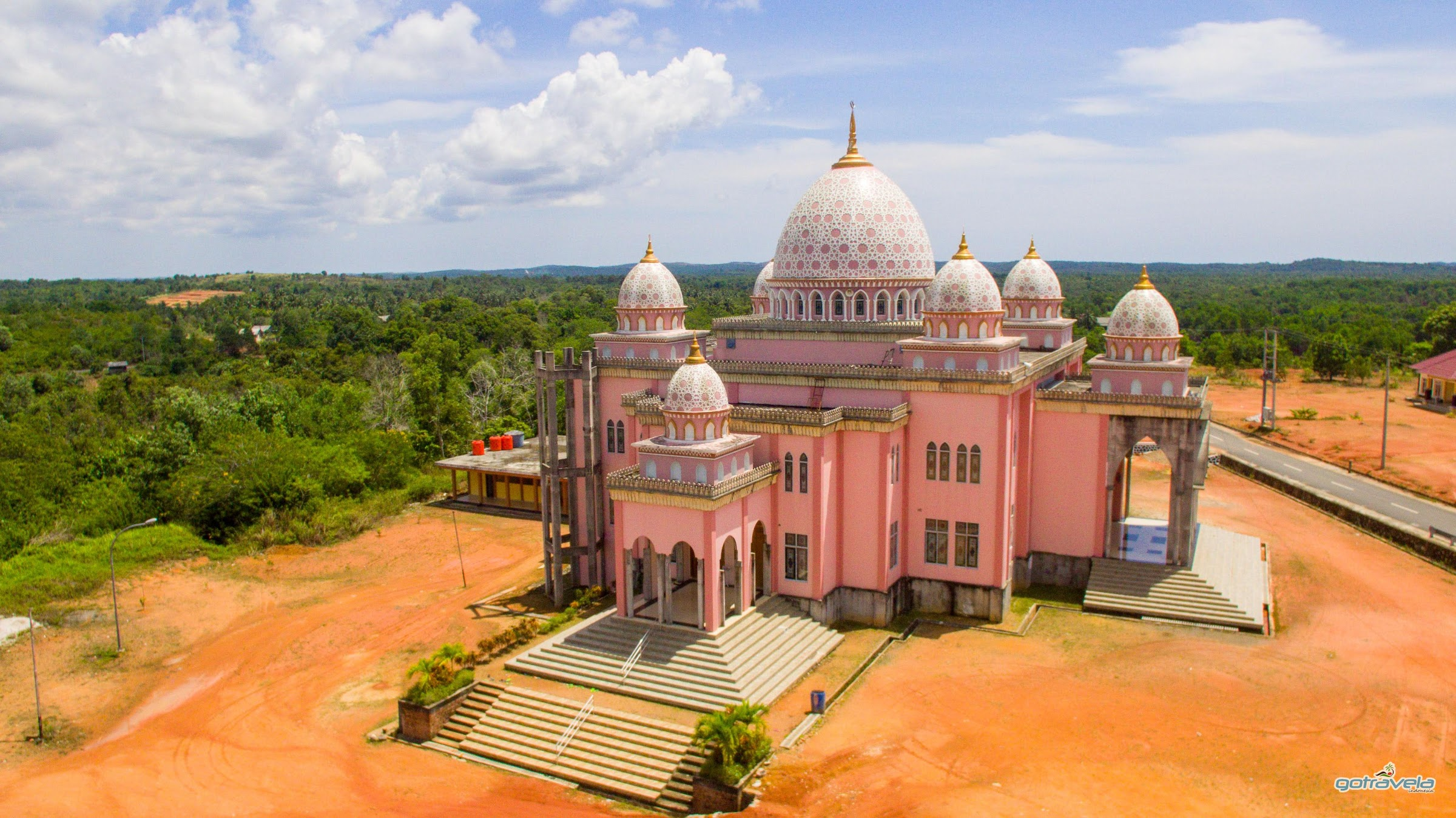 Pink Mosque Bintan Sri Bintan Pura Seaport