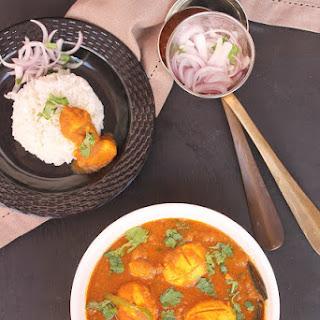 Bengali Egg Curry.
