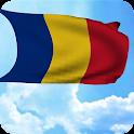 3D Romania Flag Live Wallpaper icon