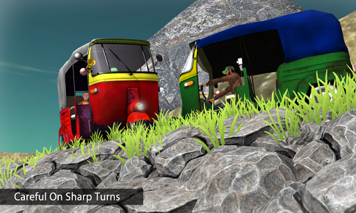 Off Road Tuk Tuk Auto Rickshaw screenshots 3