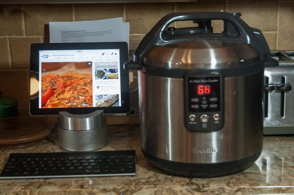 Cook on your slow cooker's low setting for 5 hours.