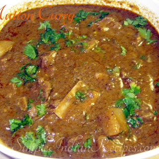 Mutton Curry With Vegetables Recipes