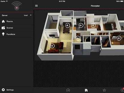 DomotiX App - náhled