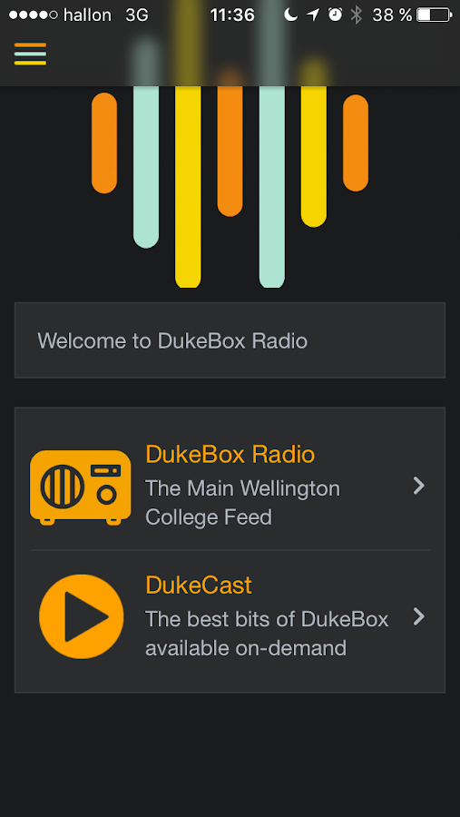 DukeBox Radio- screenshot
