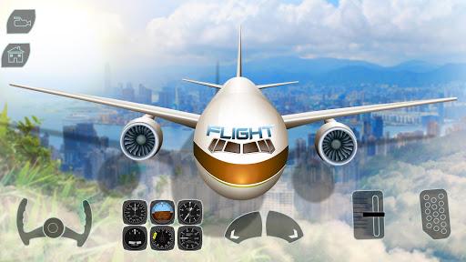 Code Triche Take off Airplane Pilot Race Flight Simulator mod apk screenshots 4