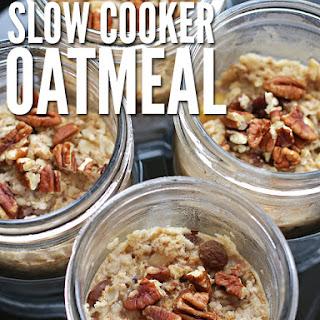 Single Serve Slow Cooker Oatmeal