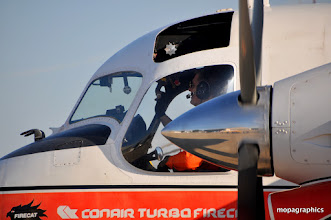 "Photo: le plus petit, le Conair Turbo ""Firecat"", extrapolation du Grumman S-2 Tracker"