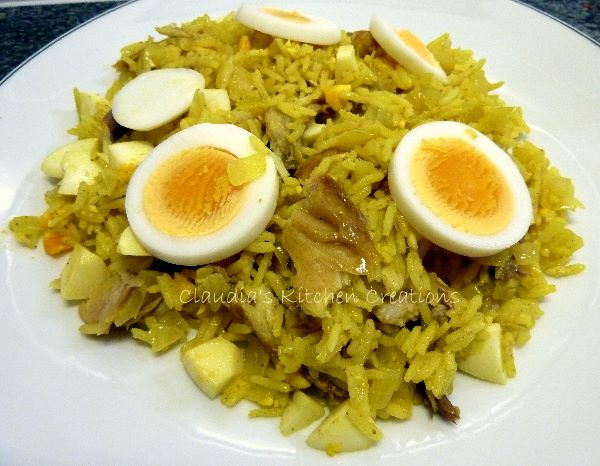 Claudia's Kitchen Creations: Kedgeree