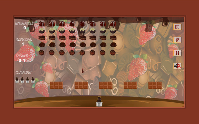 Chocolate Invaders Game