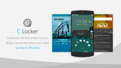 C Locker Free (Widget Locker) screenshot 9