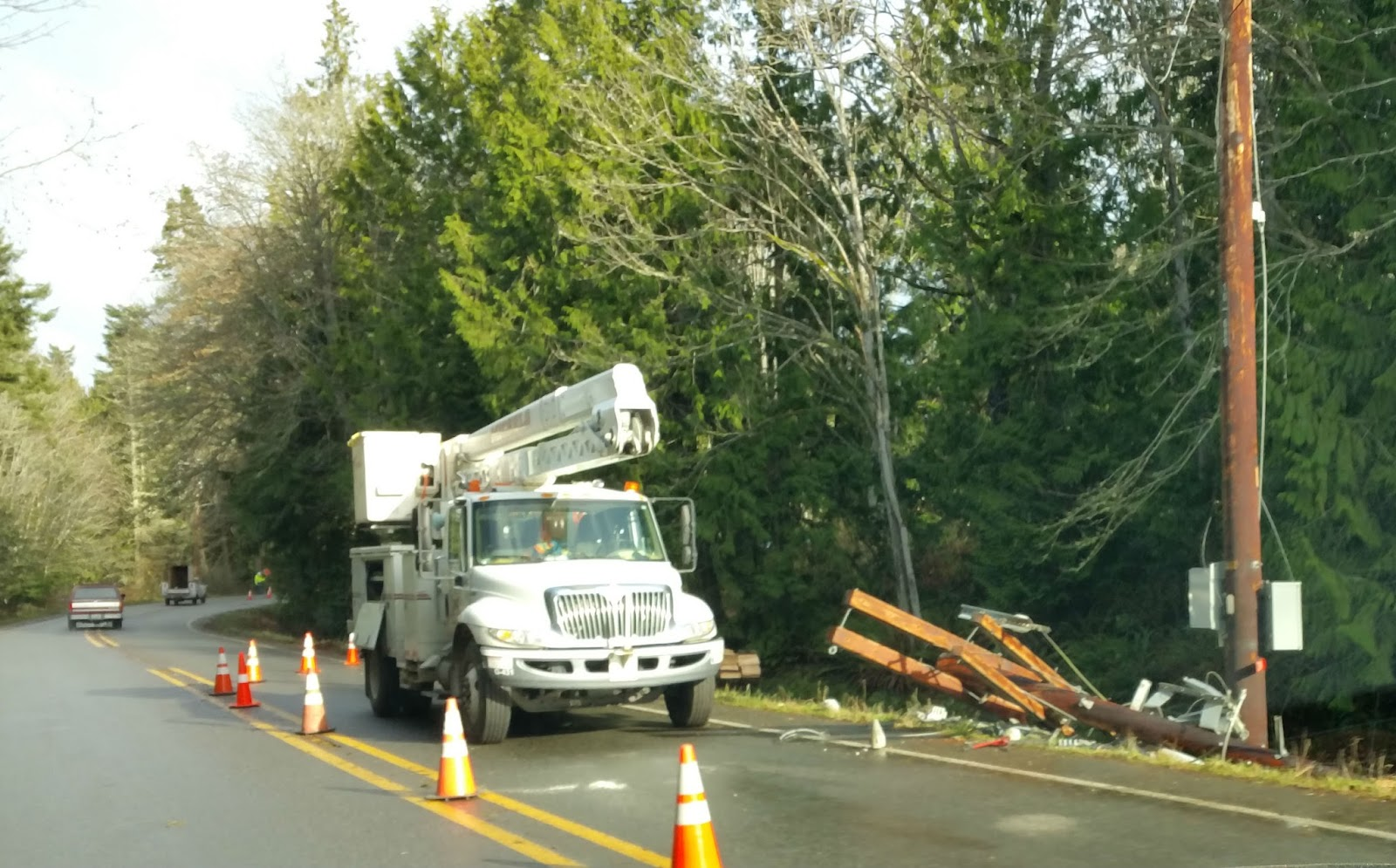 2014-12-11 storm: downed power pole.jpg