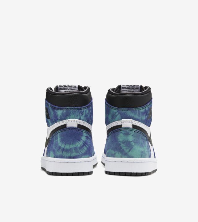 """""""Air Jordan 1 Mid Tie Dye (W)"""" รองเท้าสีมัดย้อมของผู้หญิง 03"""