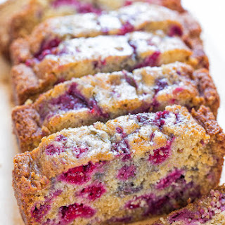 The Best Raspberry Bread