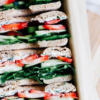 Picnic Veggie Sandwiches.