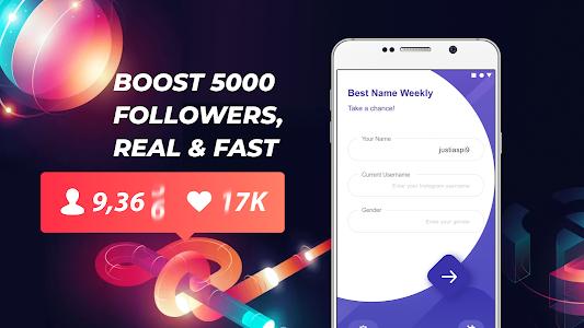 Fast 5000 Followers - Pop Username 1 0 0 + (AdFree) APK for