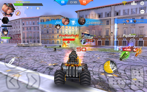 Overload Twisted Action: PvP Cars Racing Shooter 5