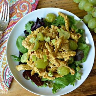 Vegan Curried Chicken Salad