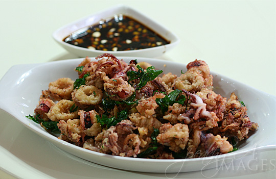 Calamares (Fried Squid)