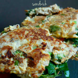 Quick Tuna Omelette Sandwiches.