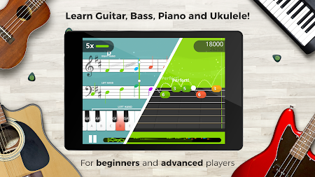 Yousician -  Learn Guitar, Piano, Bass & Ukulele APK screenshot thumbnail 8
