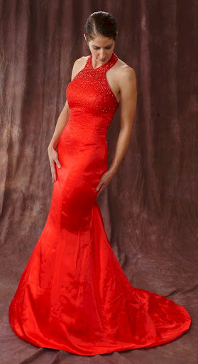 evening dress gown