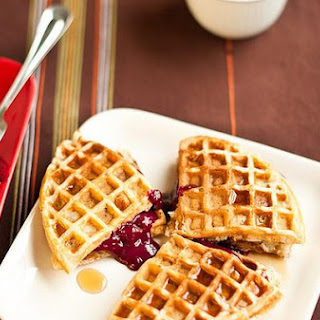 Pecan-Oatmeal Waffles