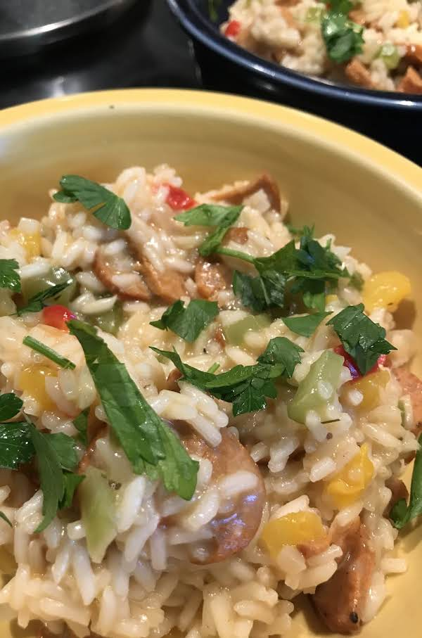 I Used Yellow And Red Bell Pepper.