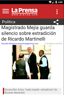 Diario La Prensa- screenshot thumbnail