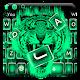 Cool green tiger beast keyboard theme APK