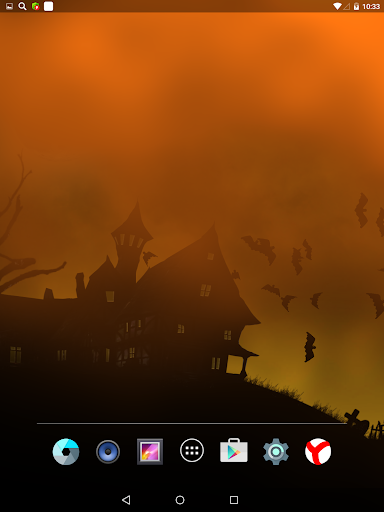 Scary Halloween Live Wallpaper  screenshots 2