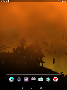 Scary Halloween Live Wallpaper Screenshot
