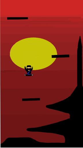 修行 닌자 점프