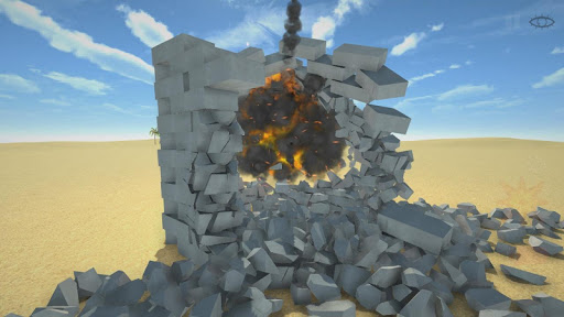 Télécharger Destruction physics: explosion demolition sandbox APK MOD (Astuce) screenshots 2