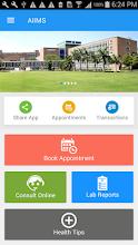 The AIIMS App screenshot thumbnail