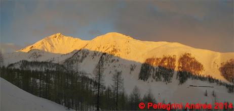 Photo: Panorama 3 in traverso, albeggia sulla Val Comasine