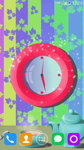 彩色時鐘動態壁紙