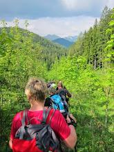 Photo: Abstieg vom Habertheuer-Sattel