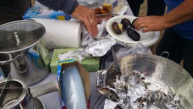 Photo: Mmmmm! Biochar baked potatoes.